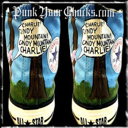 Charlie the Unicorn high chucks spines