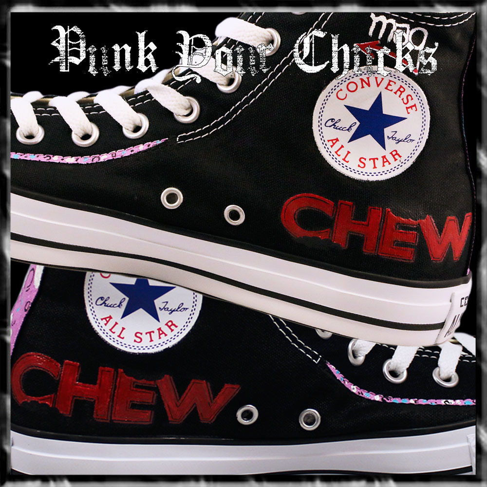 Chew High Chucks insides
