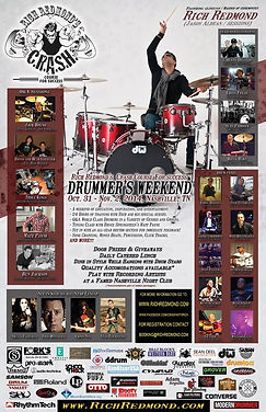 RICH REDMOND'S 2014 DRUMMER'S WEEKEND