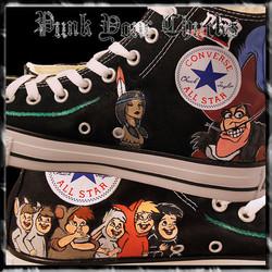 Peter Pan high Chucks insides
