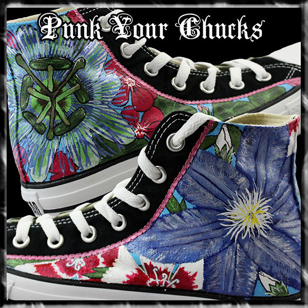 Floral High Chucks main