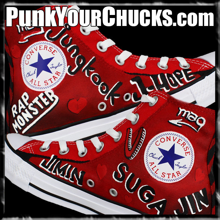 BTS High Chucks insides
