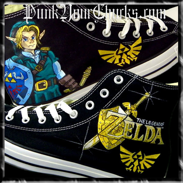 Zelda High Chucks MAIN