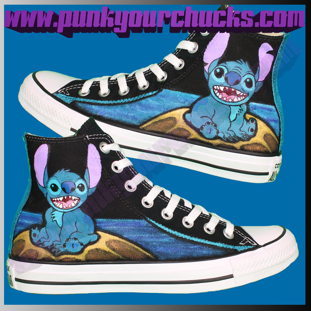 Stitch High Chucks MAIN