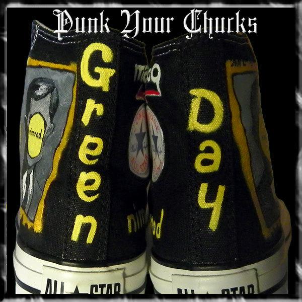 Green Day NIMROD spine