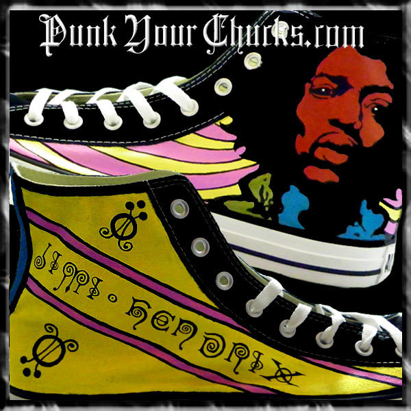 Jimi Hendrix high Chucks main