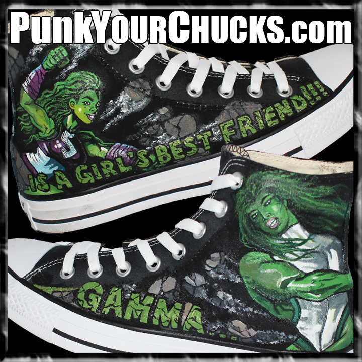 She Hulk High Chucks Main