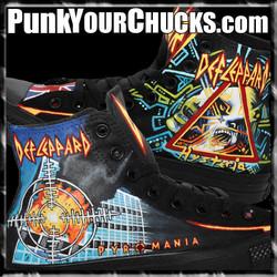 Def Leppard PYROMANIA High Chucks MAIN 2