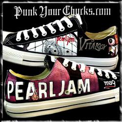 Pearl Jam montage Low Chucks insides