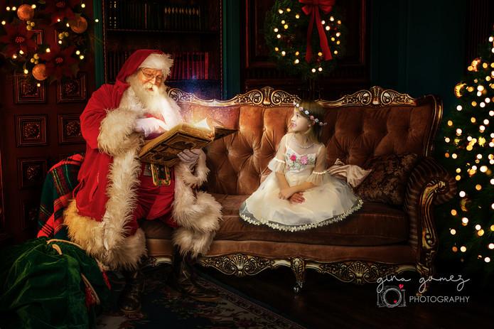 Christmas Santa on Couch