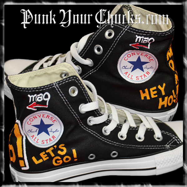 Ramones High Chucks insides