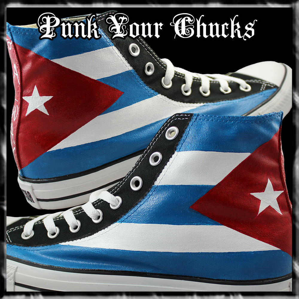 Cuban Flag high Chucks main