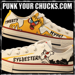 Sylvester and Tweety Low Chucks MAIN