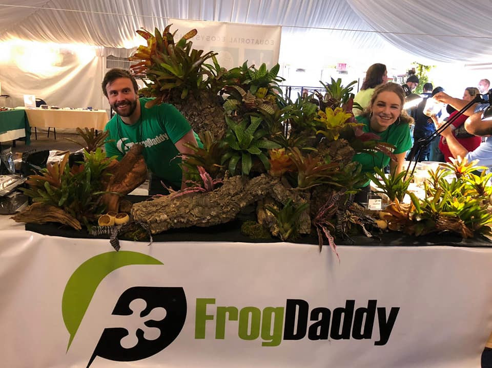 Pictured is Alex, THE FROGDADDY at FrogDaddy.net !