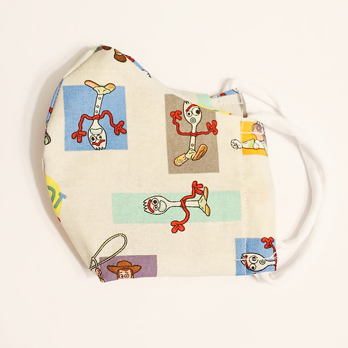 Toy Story Cotton Face Mask w/Elastic