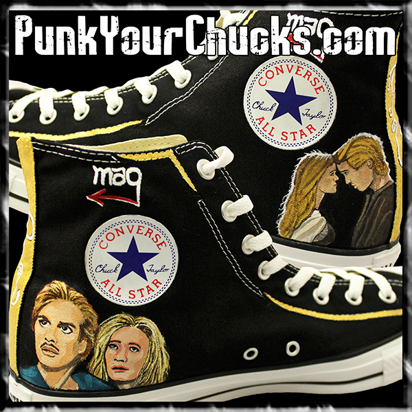 Princess Bride high Chucks insides