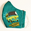 Thumbnail: Scooby Doo Mystery Machine Cotton Face Mask w/Elastic