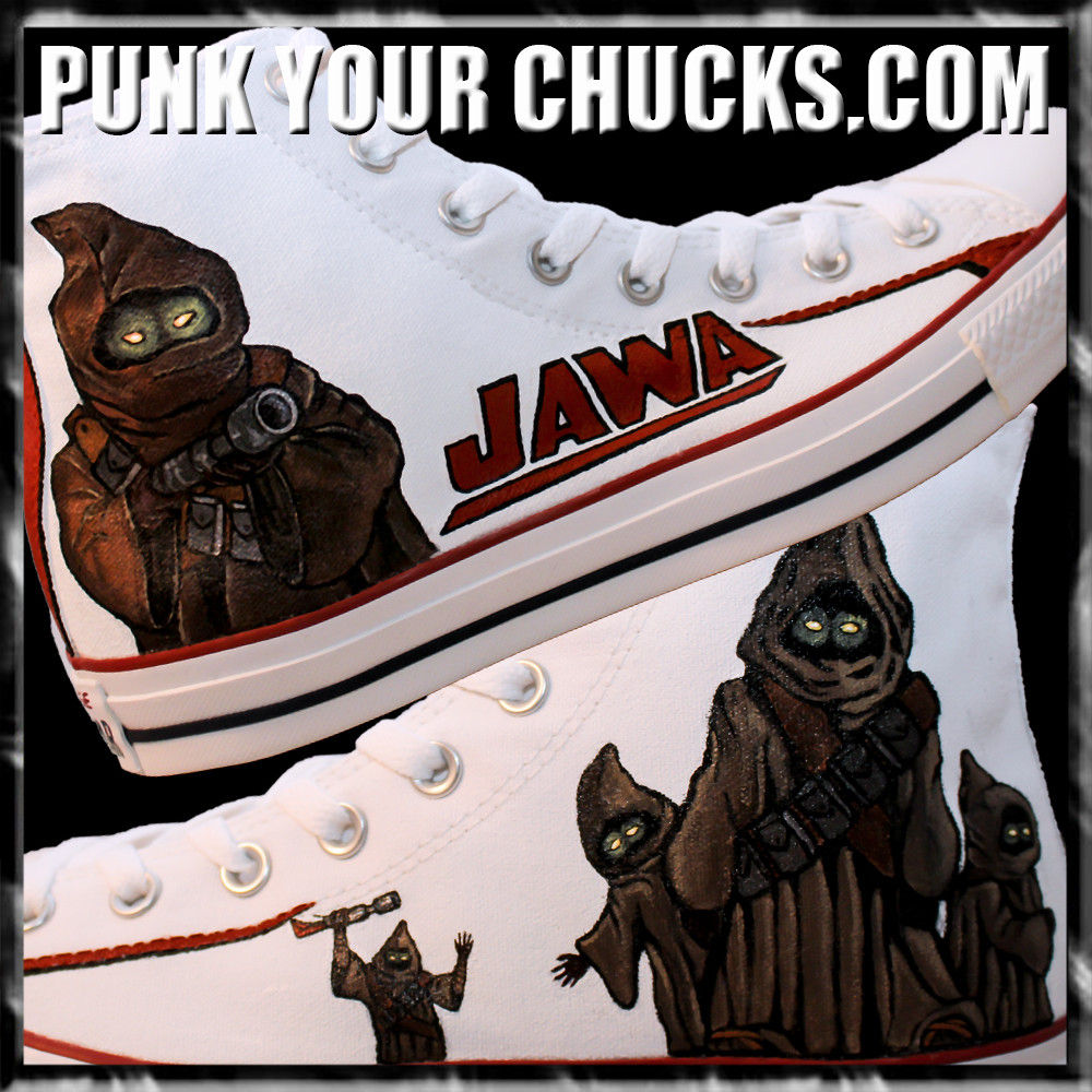 Star Wars JAWA High Chucks MAIN
