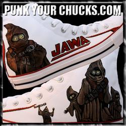 Star Wars JAWA High Chucks MAIN
