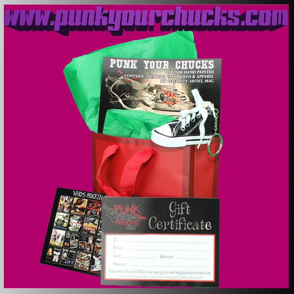Punk Your Chucks Gift Bag