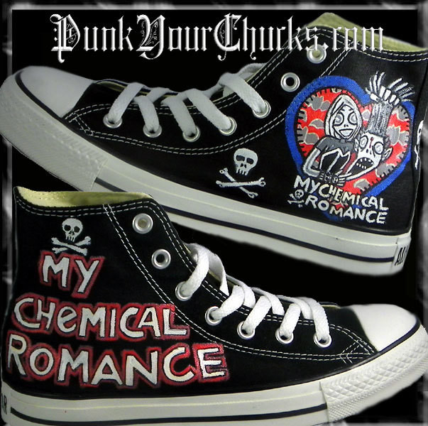 My Chemical Romance high Chucks MAIN