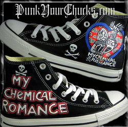 My Chemical Romance high Chucks MAIN