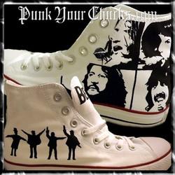 Beatles B&W High Chucks main