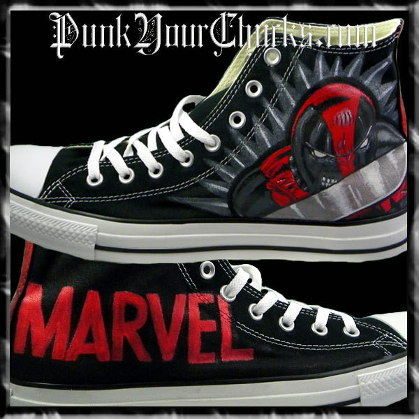 Deadpool Design 2 high chucks main