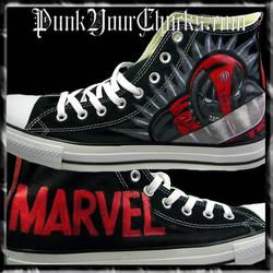 Deadpool Design 2 high chucks main