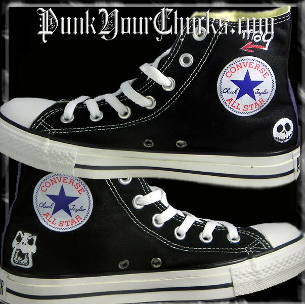 Nightmare Before Christmas high Chucks i