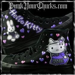 Hello Kitty High Chucks purple main larg