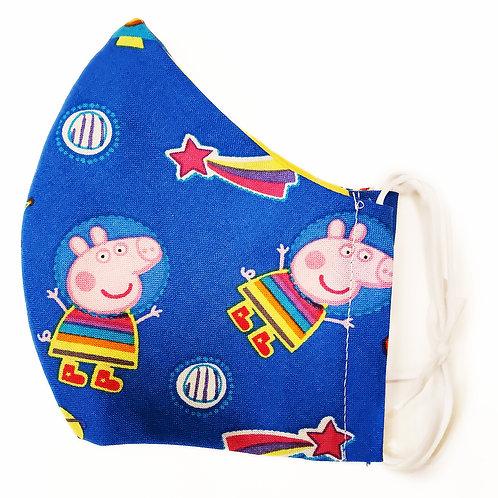 Peppa Pig on Blue