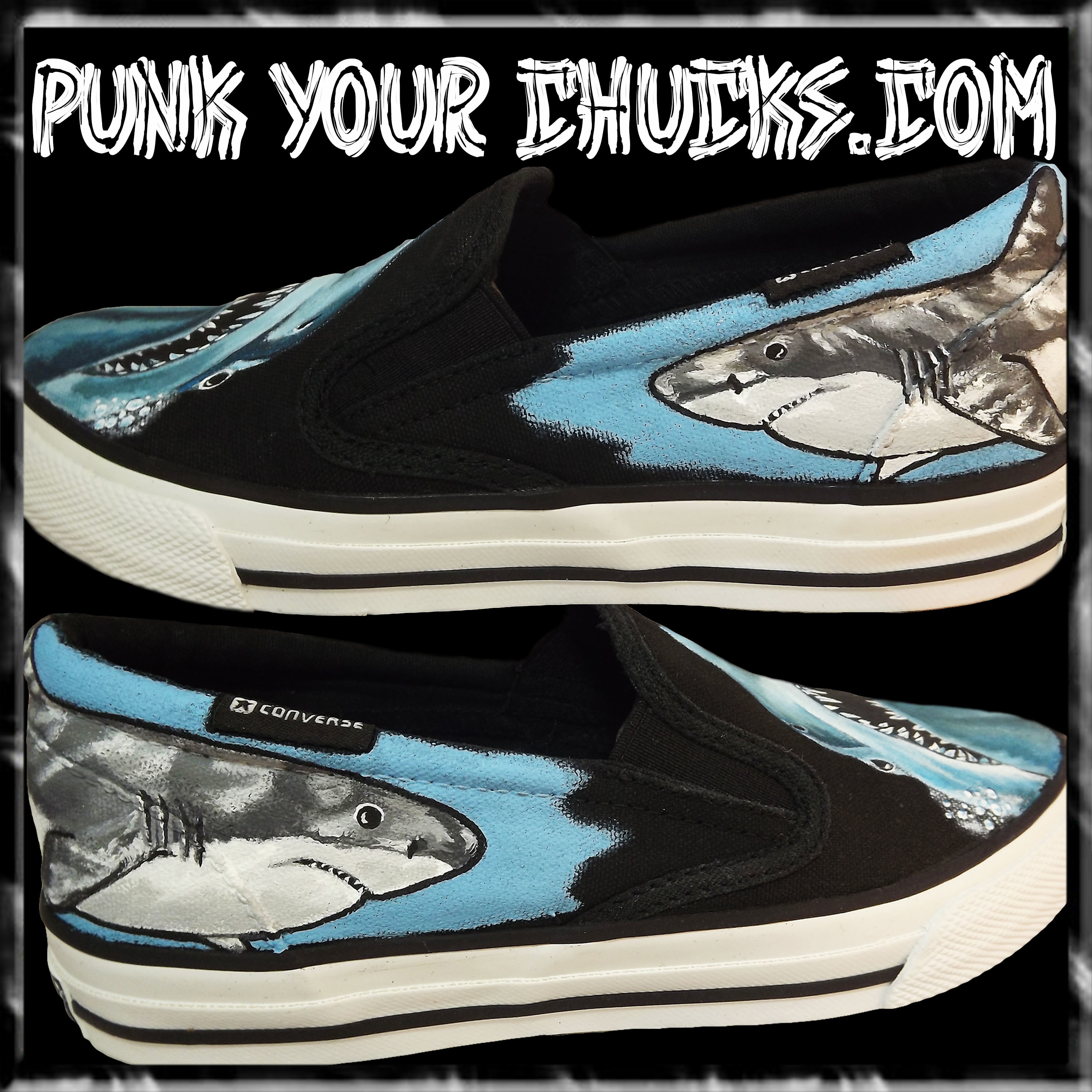 Shark Vans outsides