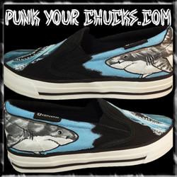 Shark Vans outsides