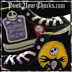 Nightmare Before Christmas high Chucks M