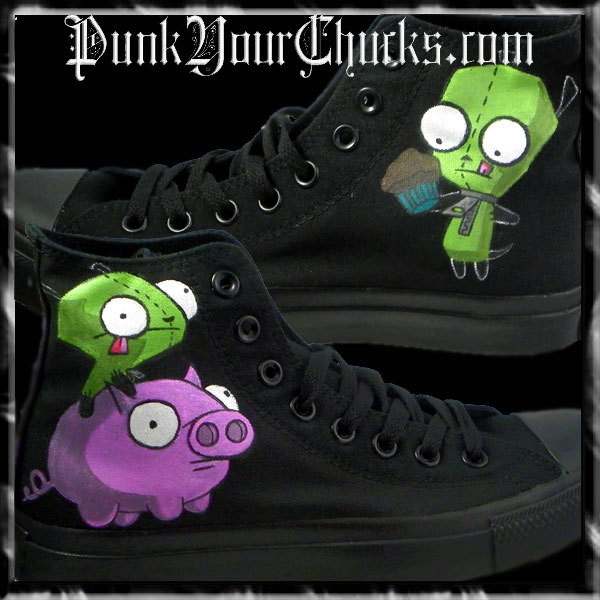 Invader Zim High Chucks Main