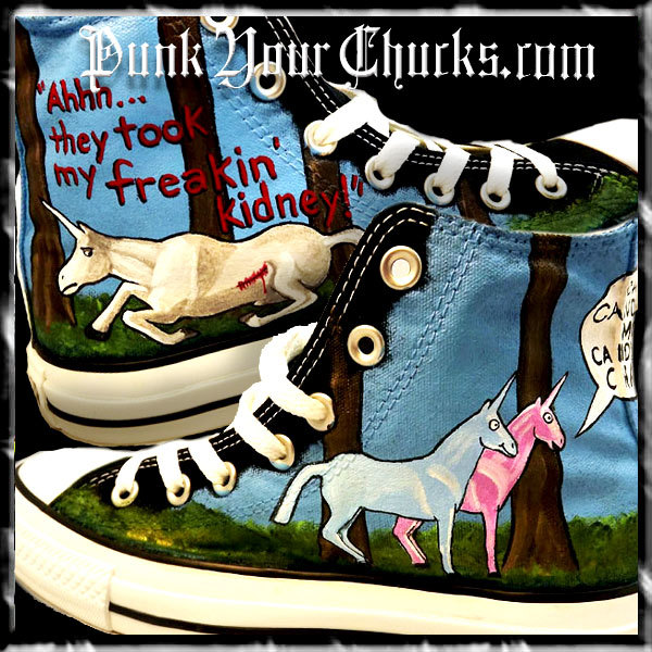 Charlie the Unicorn high chucks main