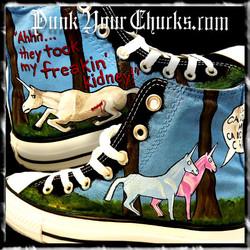 Charlie the Unicorn high chucks main
