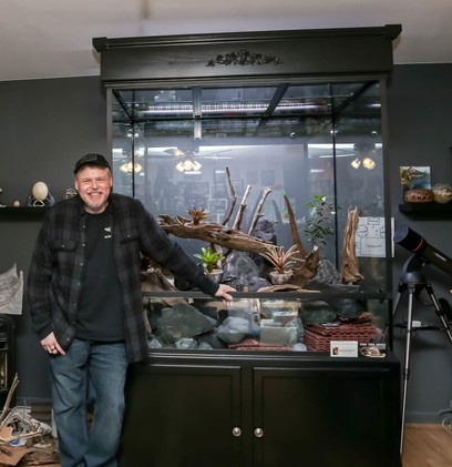 The Rainforest Exhibit and its creator, MAG