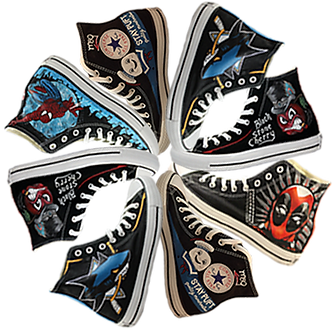 8fc97998ee0f Custom Converse Hand Painted