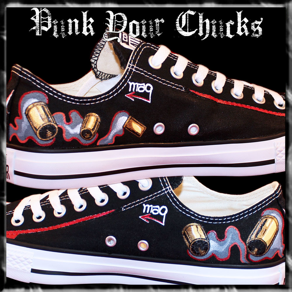 BLOODSHOT  LOW Chucks insides