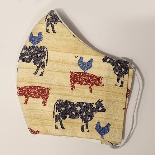 Patriotic Farm Animals
