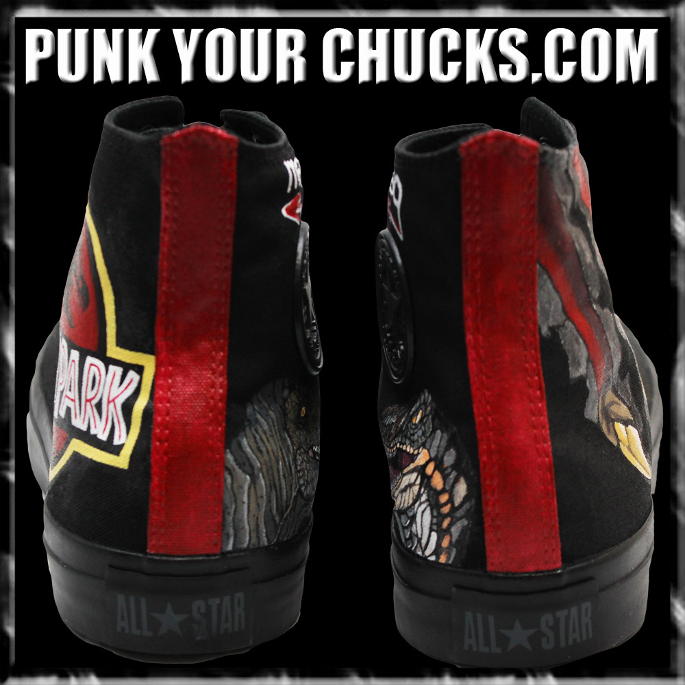 Jurassic Park High Chucks spines