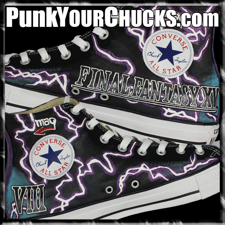 Final Fantasy High Chucks insides