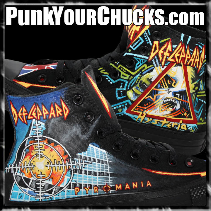 Def Leppard PYROMANIA High Chucks MAIN