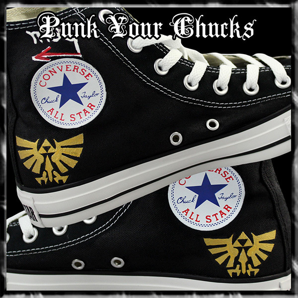 Zelda High Chucks insides
