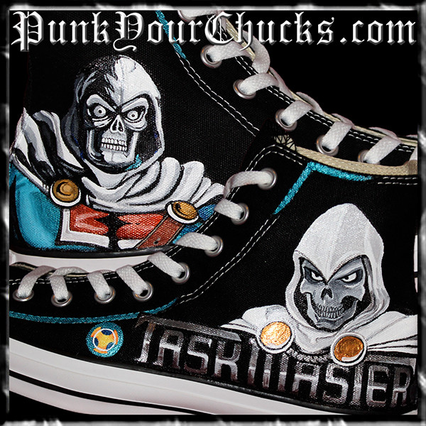 Marvel Taskmaster High Chucks MAIN
