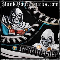 Marvel Taskmaster High Chucks MAIN