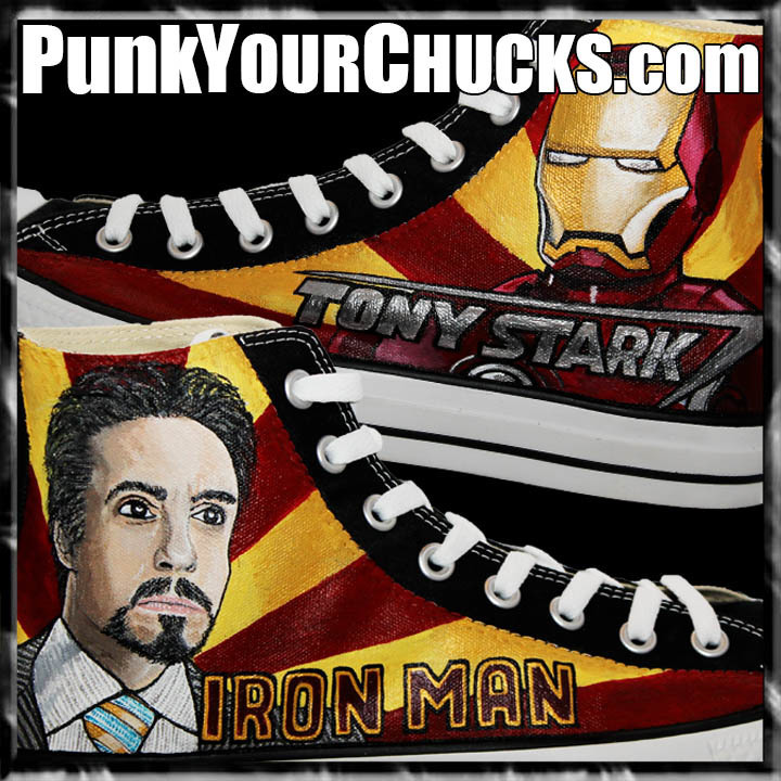 Ironman Stark High Chucks main