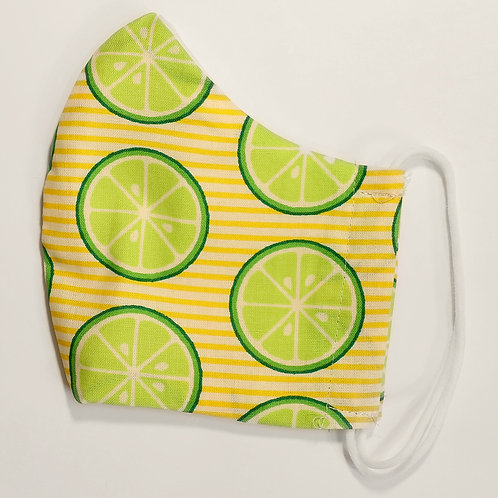 Limes on Yellow Stripes
